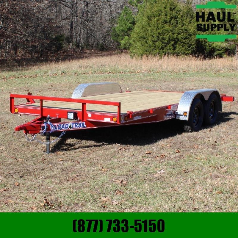 Load Trail 83X16 TANDEM AXLE CARHAULER