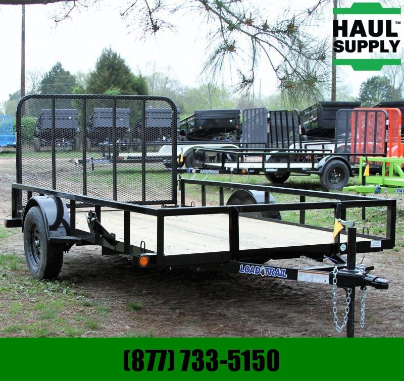 Load Trail 77X12 Single Axle Utility trailer Treated