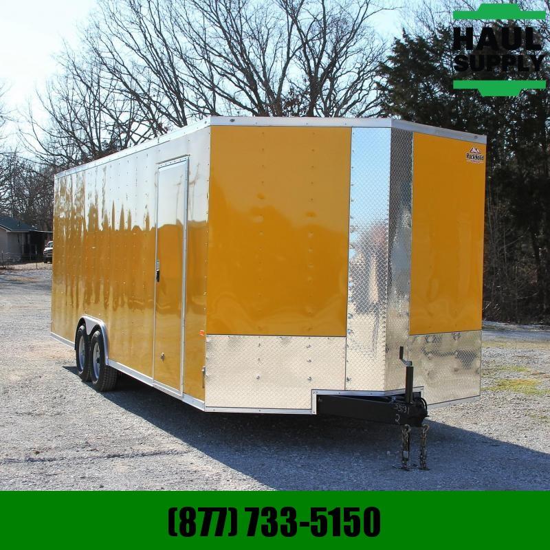 Rock Solid Cargo 8.5X24 10K XT V-NOSE ENCLOSED CAR HAULER