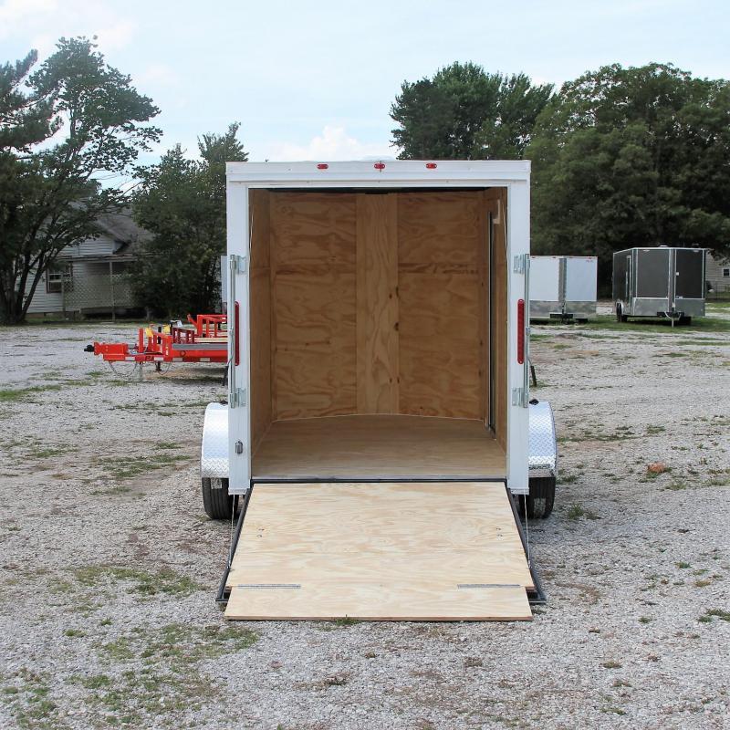 Traveler Cargo 6X10 V-nose Cargo Trailer Roof Vent Side