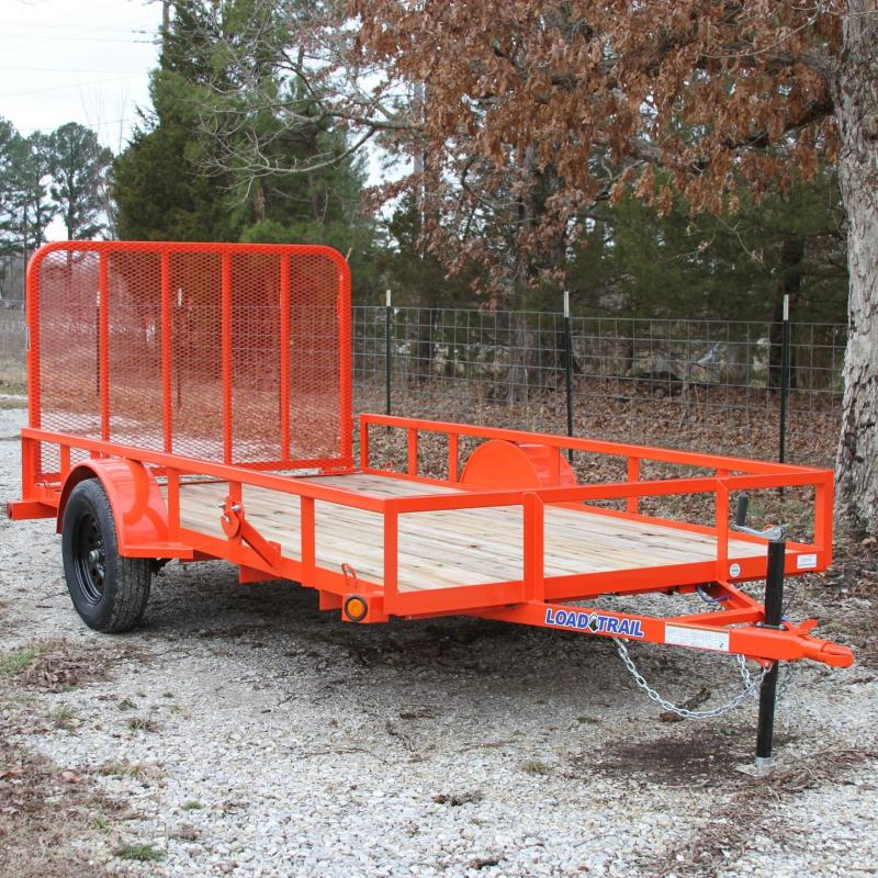 Load Trail 77X12 UTILITY TRAILER W/TREATED WOOD FLOO