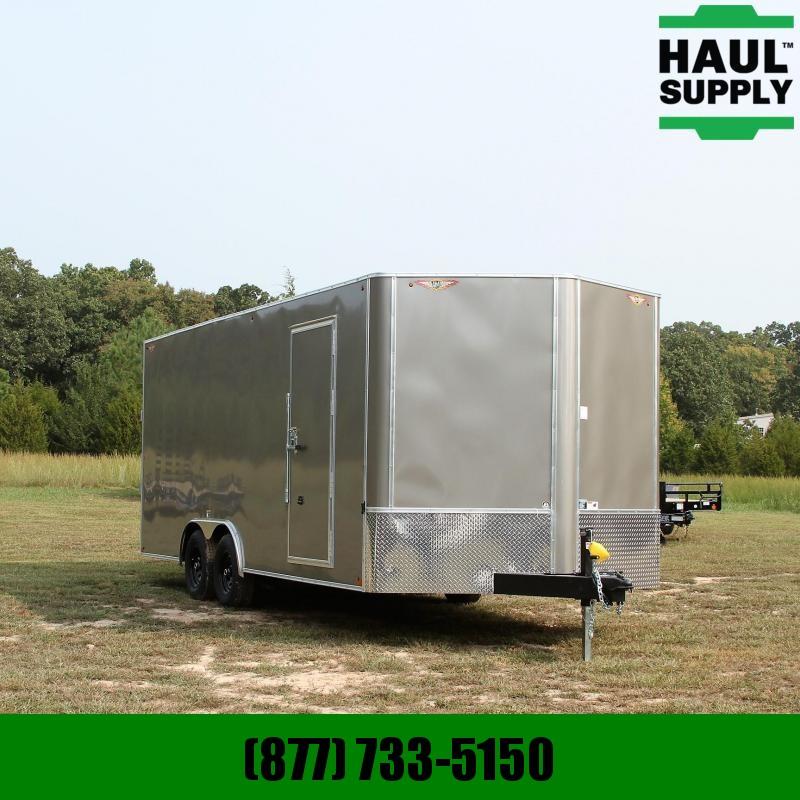 H and H Trailer 8.5X20 10K V-nose Enclosed XXT Car Hauler