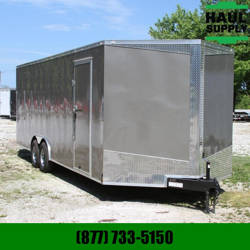 Lark 8.5X24 10K XT V-nose Enclosed Car Hauler