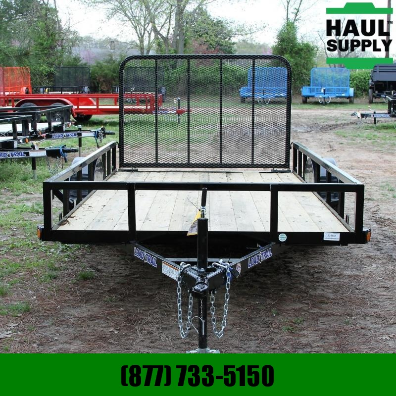 Load Trail 77X12 UTILITY TRAILER 4FT FOLD IN GATE RA