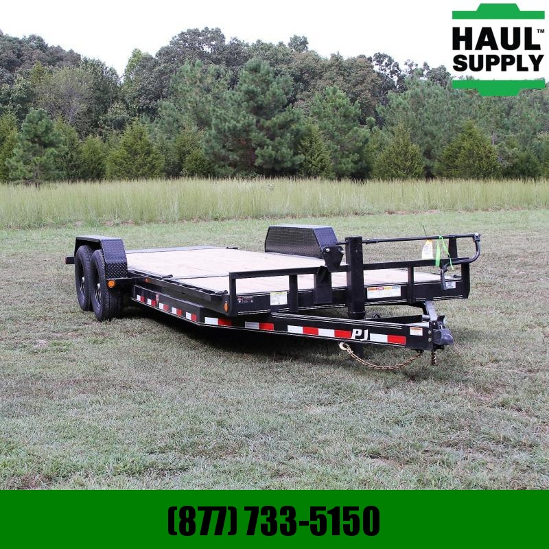PJ Trailers 83X22 14K Channel Equipment Tilt Trailer