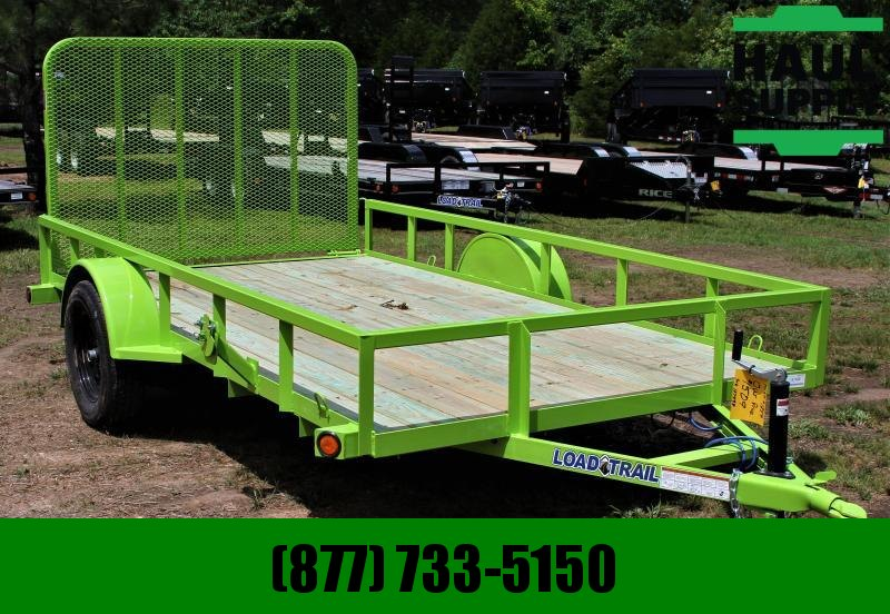 Load Trail 77X12 SINGLE AXLE UTILITY W/ TAILGATE