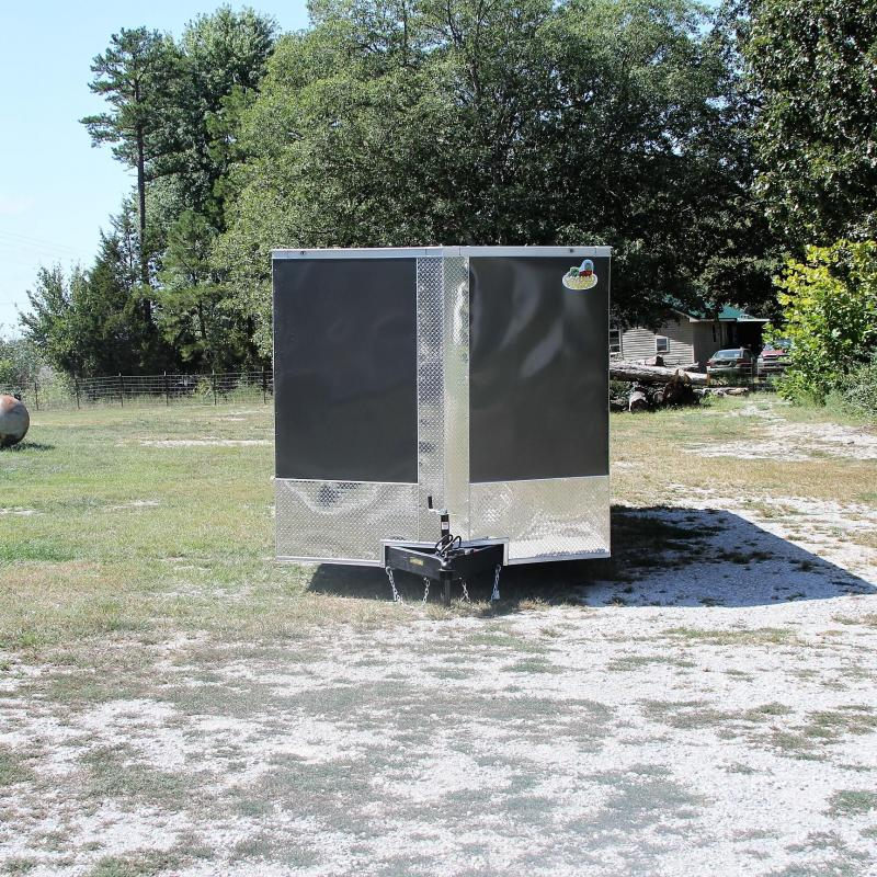 Covered Wagon Trailers 8.5X24 10K V-NOSE ENCLOSED CAR HAULER XT