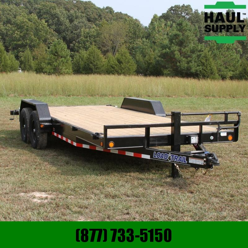 Load Trail 83X20 14K Open Car Hauler Dexter Spring A