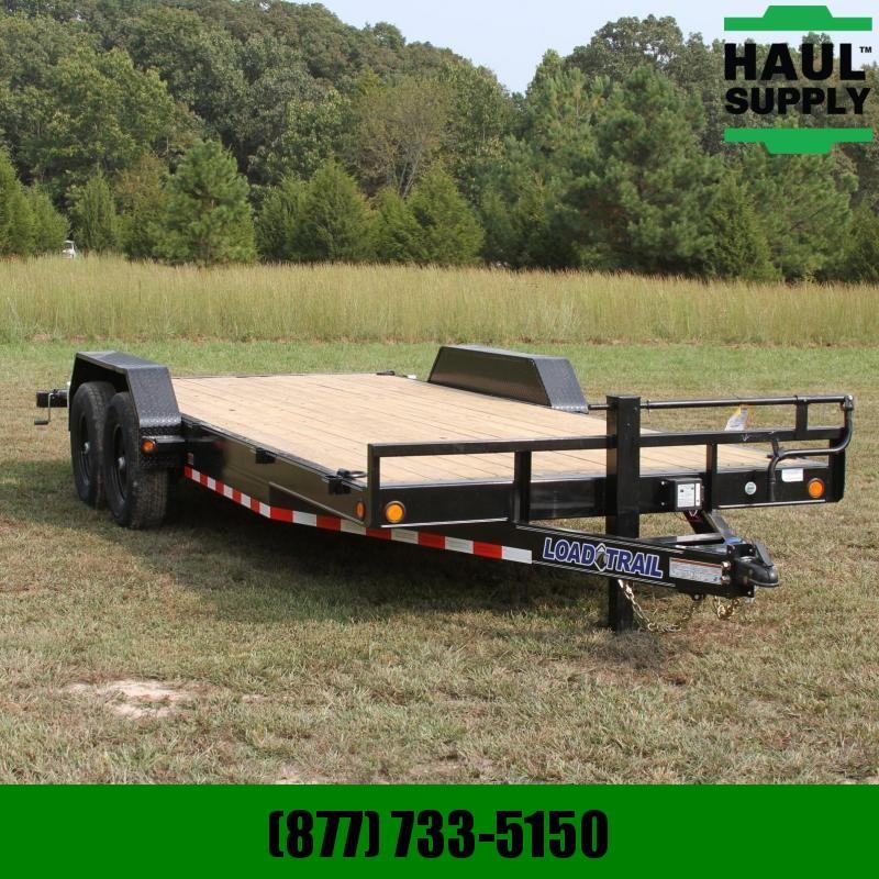 Load Trail 83X20 14K Open Car Hauler Dexter Spring A
