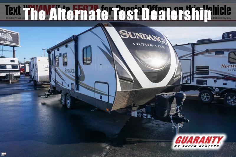2018 Heartland Sundance XLT 221 RB - Guaranty RV Trailer and Van Center - PT4043