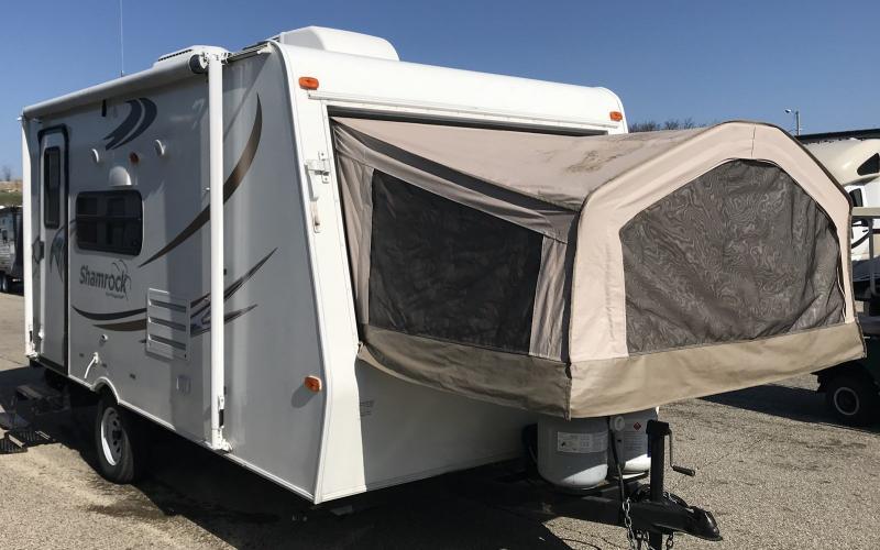 2012 Flagstaff Shamrock 17 - 12872A  - Burlington RV Superstore
