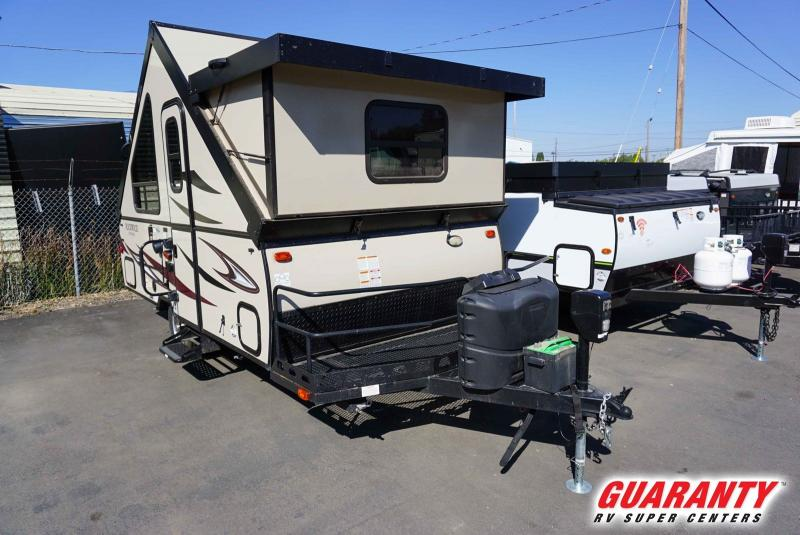 2018 Forest River Rockwood Hard Side 122BH - Guaranty RV Trailer and Van Center - T40160A