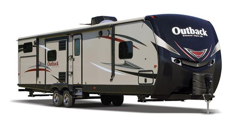 2016 Keystone Outback Diamond Super-Lite 326RL - Guaranty RV Trailer and Van Center - T41467A