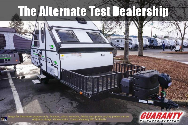 2020 Forest River Rockwood Hard Side 122TH - Guaranty RV Trailer and Van Center - T41202