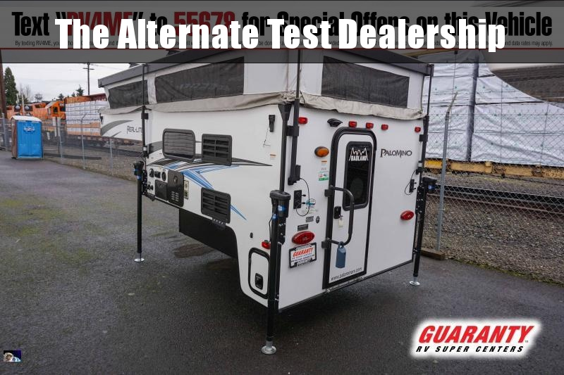 2021 Palomino Real-Lite Truck Camper SS-1608 - Guaranty RV Fifth Wheels - T42207A