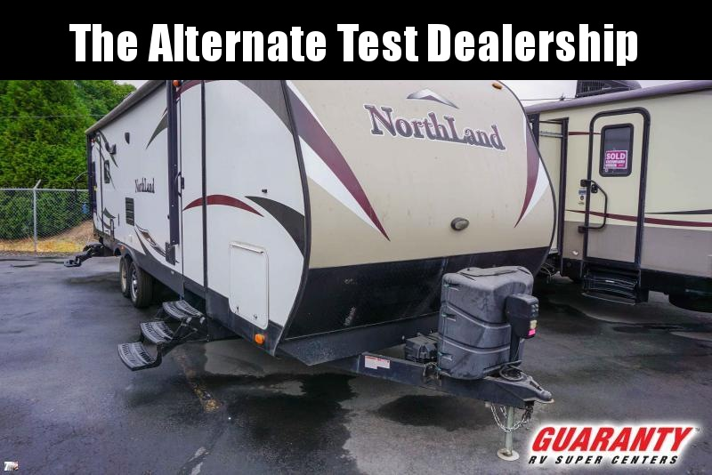 2016 Pacific Coachworks Northland 27RLSS - Guaranty RV Trailer and Van Center - T39147A