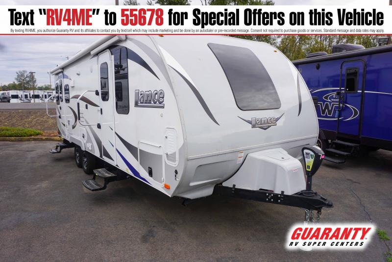2019 Lance Lance 2375 - Guaranty RV Trailer and Van Center - T41430A