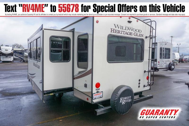 2021 Forest River Wildwood Heritage Glen 273RL - Guaranty RV Trailer and Van Center - T42940