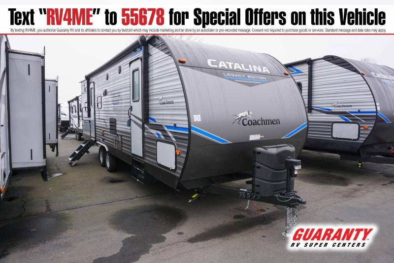 2021 Coachmen Catalina Legacy Edition 263BHSCK - Guaranty RV Trailer and Van Center - T41616