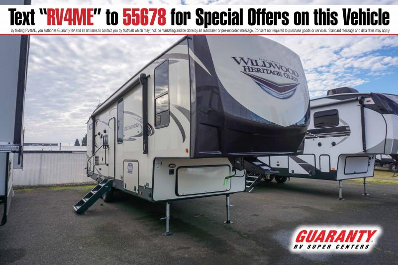2021 Forest River Wildwood Heritage Glen 295BH - Guaranty RV Fifth Wheels - T41987