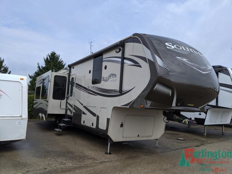 2014 Grand Design Solitude 369RL - BRV - 13708A  - Burlington RV Superstore