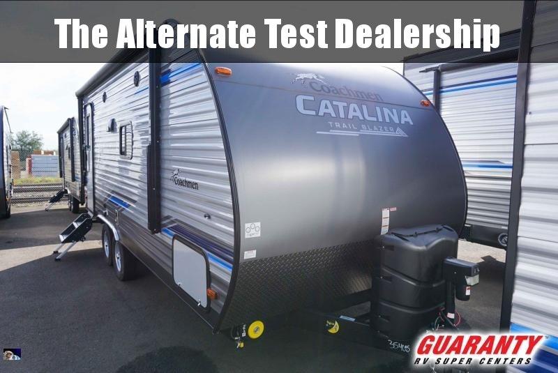 2020 Coachmen Catalina Trail Blazer 19TH - Guaranty RV Fifth Wheels - T40653