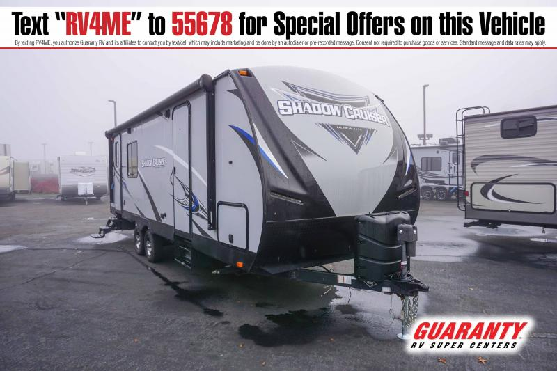 2018 Cruiser Shadow Cruiser SC251RKS - Guaranty RV Trailer and Van Center - T41744A