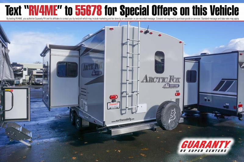 2021 Northwood Arctic Fox North Fork 25R - Guaranty RV Trailer and Van Center - T42795