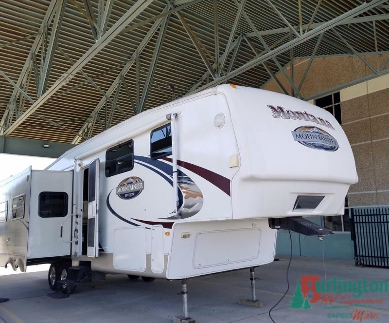 2008 Keystone Mountaineer 324RLQ - BRV - 13301A  - Burlington RV Superstore