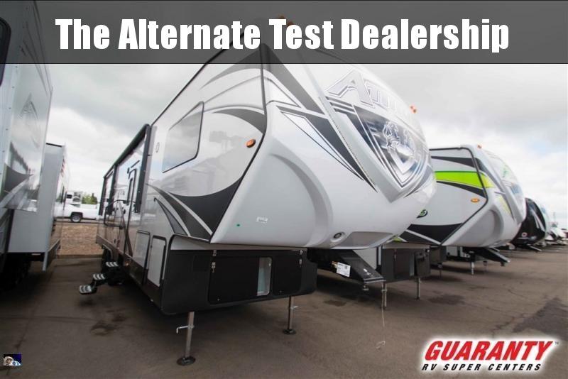 2019 Eclipse Attitude Wide Body 5th Wheel 35 GSG - Guaranty RV Fifth Wheels - T39193