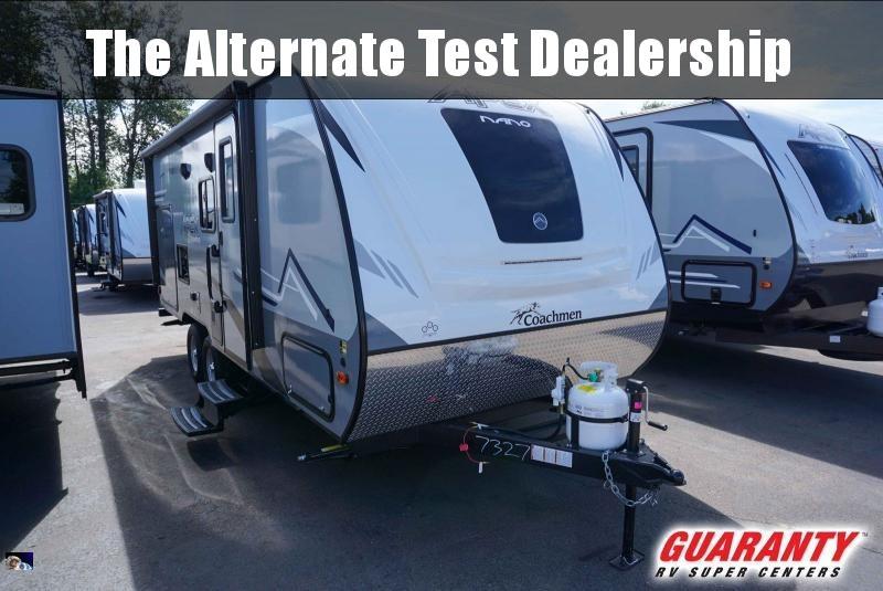 2020 Coachmen Apex Nano 203RBK - Guaranty RV Trailer and Van Center - T40696