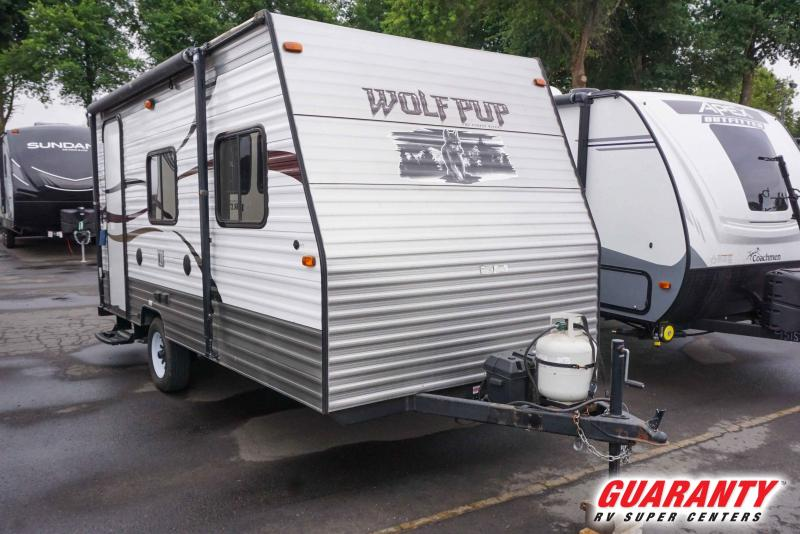 2015 Forest River Wolf Pup 16FB - Guaranty RV Trailer and Van Center - T41005A