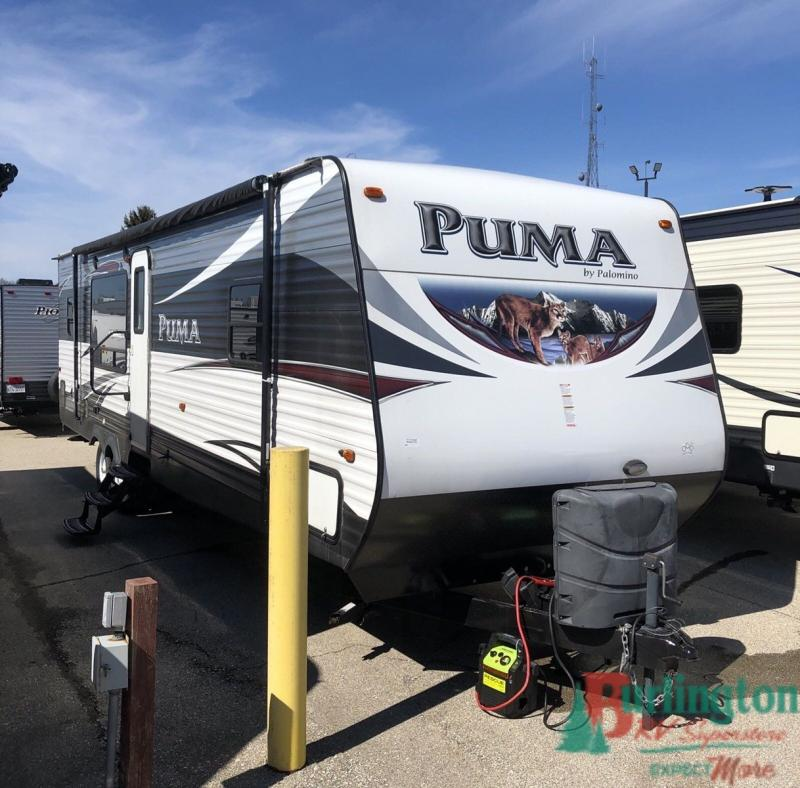 2016 Palomino Puma 30RKSS - BRV - 13364A  - Burlington RV Superstore