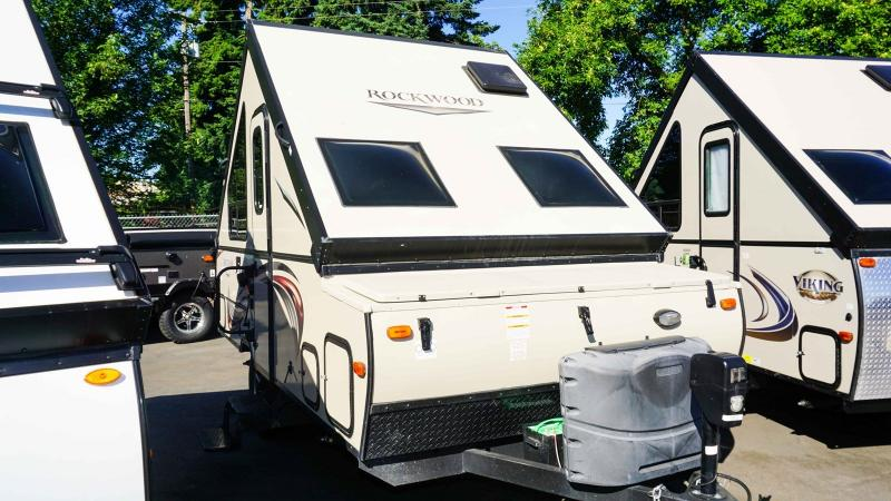 2016 Forest River Rockwood Hard Side 122SXR - Guaranty RV Trailer and Van Center - T40360A