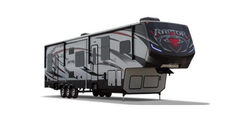 2015 Keystone Raptor 412TS - Sturtevant, WI - 14135A  - Burlington RV Superstore