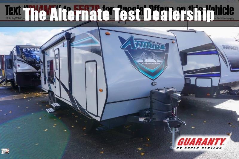 2021 Eclipse Attitude 2414 - Guaranty RV Fifth Wheels - T41482A