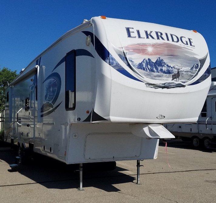 2012 Heartland Elk Ridge 36QBCK - 12831B  - Burlington RV Superstore