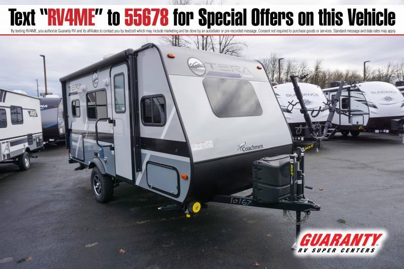 2021 Coachmen Apex Tera 16T - Guaranty RV Trailer and Van Center - T41546