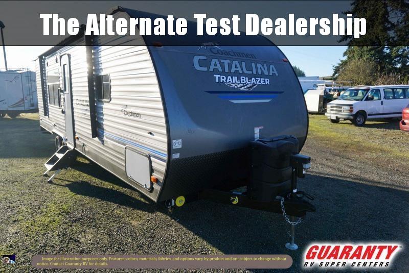 2020 Coachmen Catalina Trail Blazer 26TH - Guaranty RV Fifth Wheels - T40716