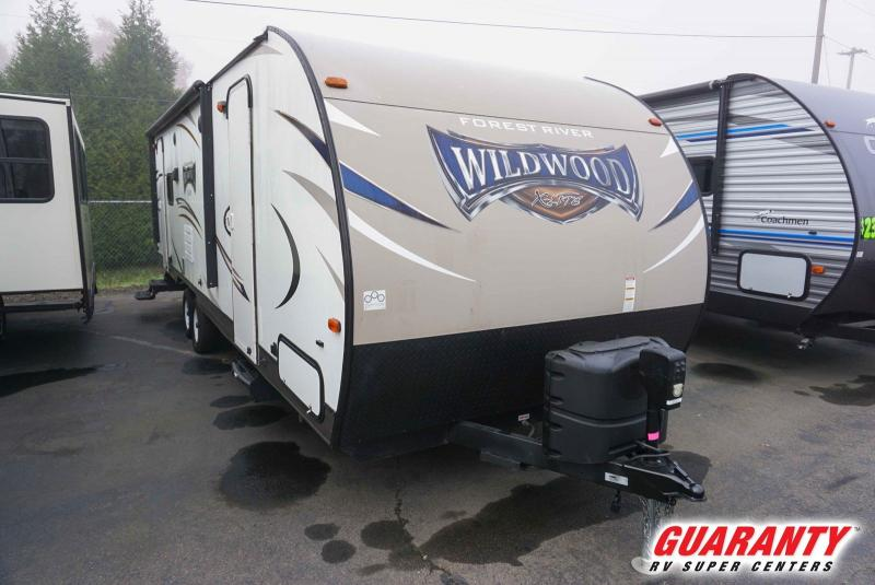 2016 Forest River Wildwood X-Lite 254RLXL - Guaranty RV Trailer and Van Center - T40223A