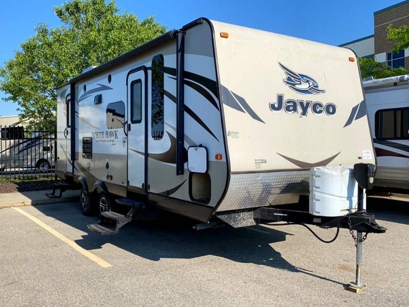 2015 Jayco White Hawk Ultra Lite 23MBH - Sturtevant, WI - 13728A  - Burlington RV Superstore