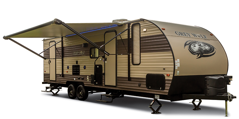 2018 Forest River Cherokee Grey Wolf 22RR - Sturtevant, WI - 14005A  - Burlington RV Superstore