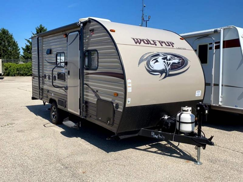 2016 Forest River Cherokee Wolf Pup 16BHS - Sturtevant, WI - 14059A  - Burlington RV Superstore