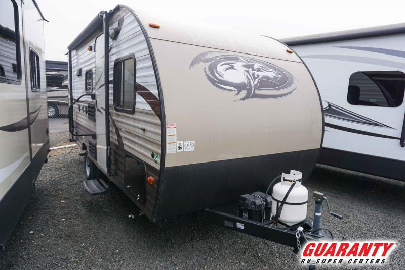 2016 Forest River Wolf Pup 16FQ - Guaranty RV Trailer and Van Center - T39665B