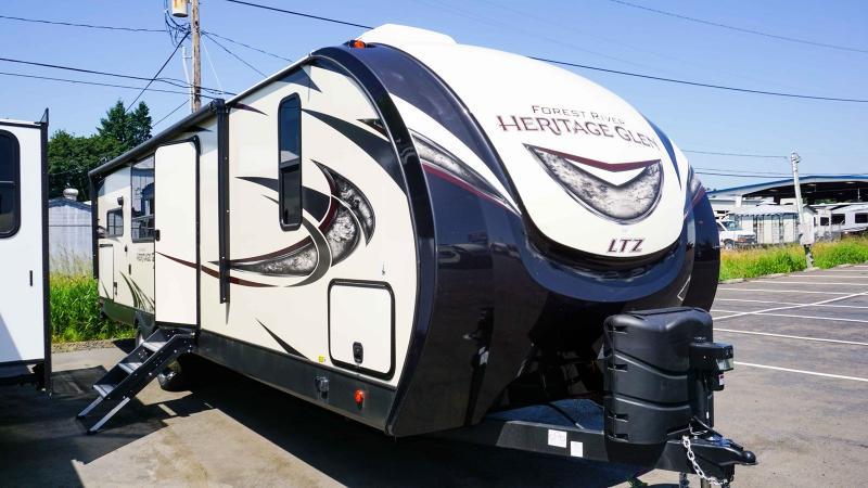2020 Forest River Wildwood Heritage Glen Ltz 283RK - Guaranty RV Trailer and Van Center - T40273