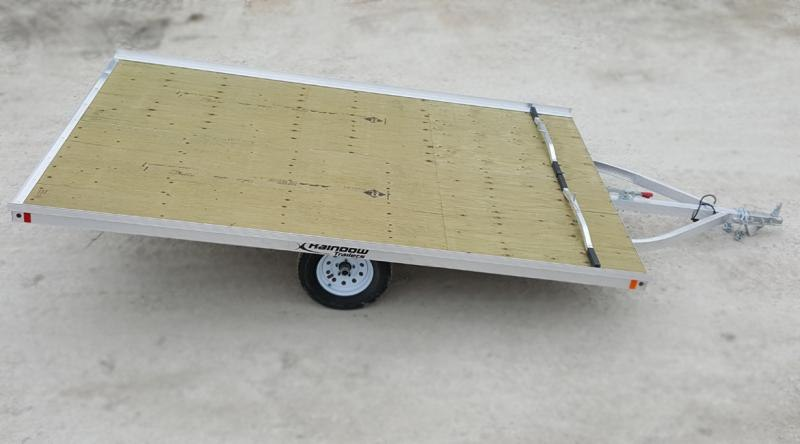 "2020 Rainbow Trailers 10' Drive On/Off w/ 2200 lb. Axle (10"" Tire) Snowmobile Trailer"