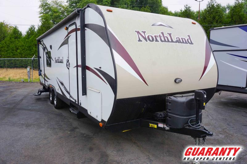 2016 Pacific Coachworks Northland 25RKS - Guaranty RV Trailer and Van Center - SM41094C