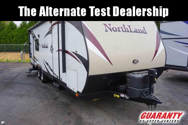 2016 Pacific Coachworks Northland 25RKS - Guaranty RV Trailer and Van Center - SM41094C