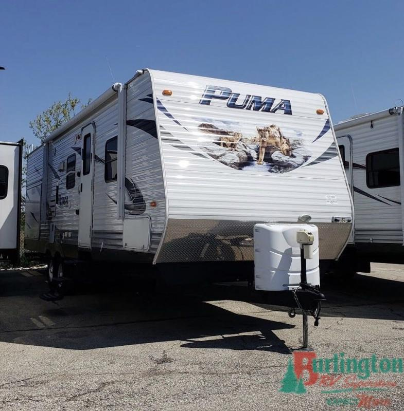 2012 Palomino Puma 28KRB - BRV - 13115A  - Burlington RV Superstore
