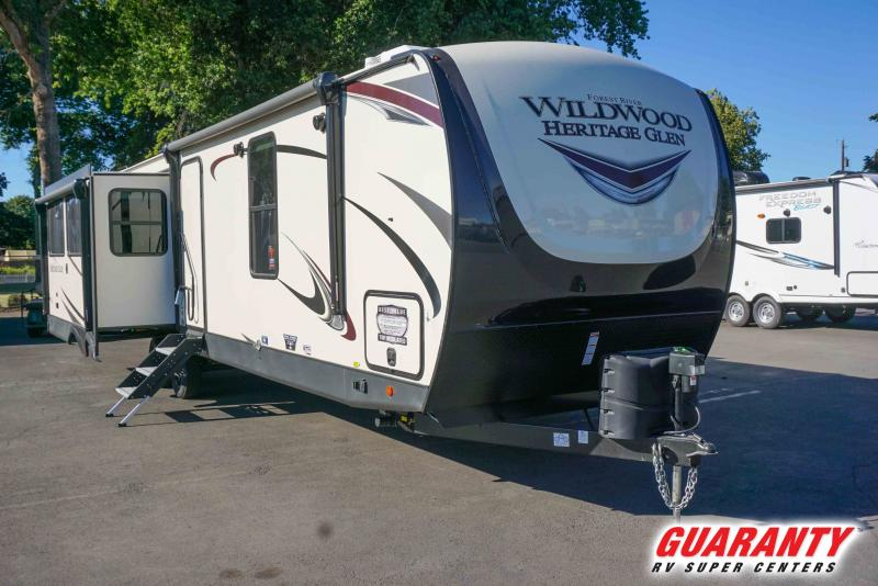2021 Forest River Wildwood Heritage Glen 308RL - Guaranty RV Trailer and Van Center - T41742